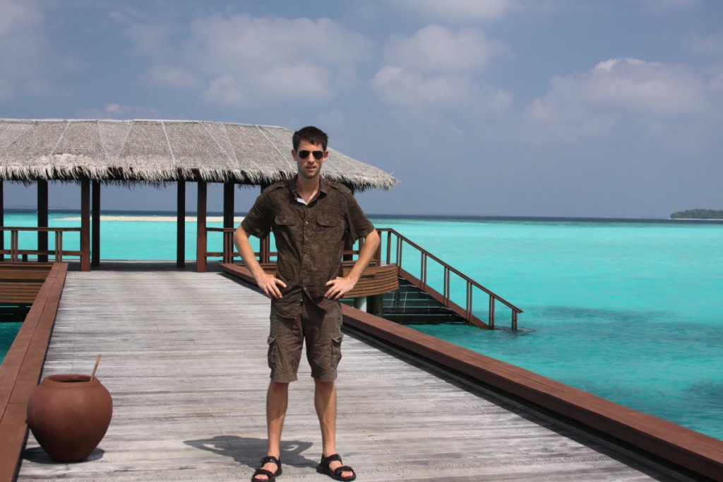 Dave in Maldives