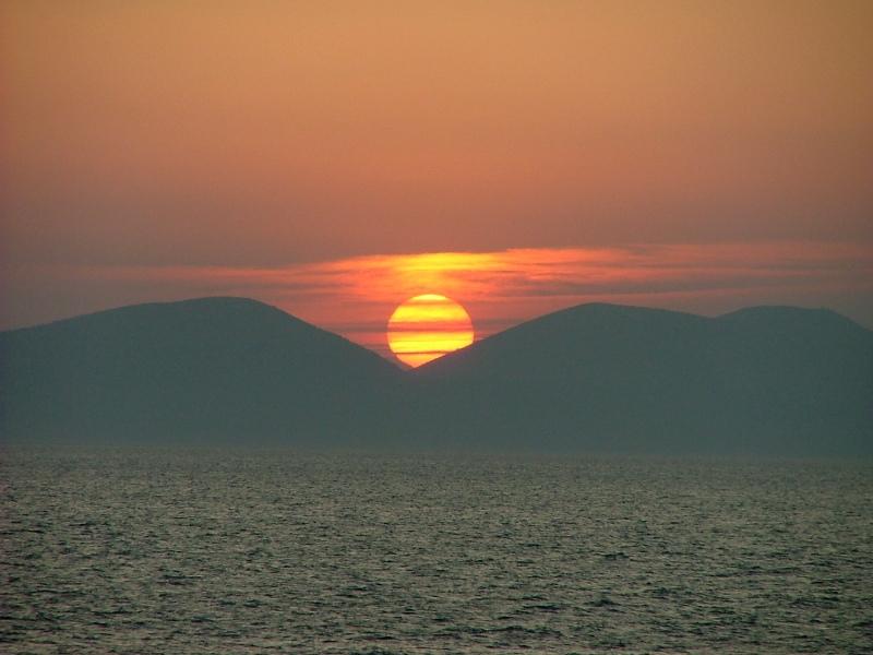Sazani Vlore - Sunset